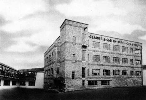 Clarke and Smith Wallington Factory