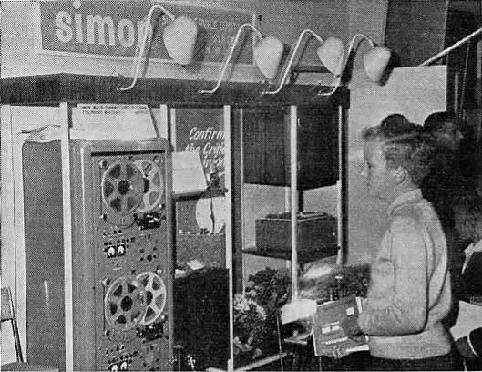 Simon Equipment trade stand 1959